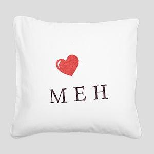 MEH Square Canvas Pillow