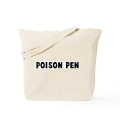 Poison pen Tote Bag