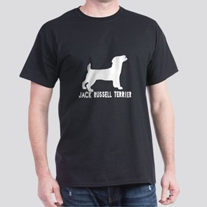 Jack Russell Terrier Dog Designs Dark T-Shirt