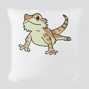 Sorry My Bearded Dragon Ate My Woven Throw Pillow