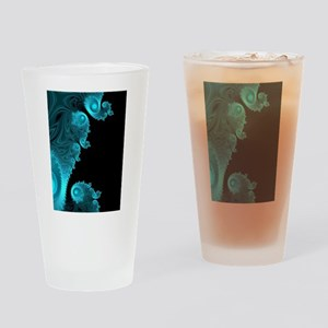 Black Ice Drinking Glass