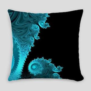 Black Ice Everyday Pillow