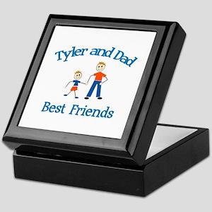 Tyler & Dad - Best Friends  Keepsake Box