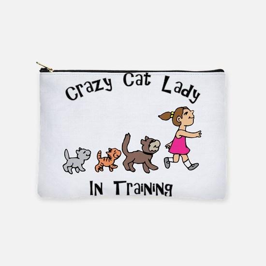 Crazy Cat Lady Trainee Makeup Bag