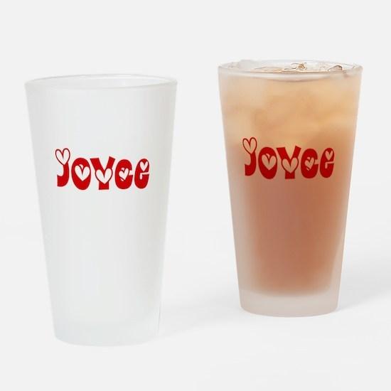 Joyce Love Design Drinking Glass