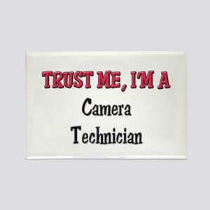 Trust Me I'm a Camera Technician Rectangle Magnet