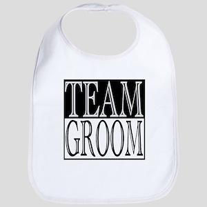 Team Groom -- Wedding Day Bib