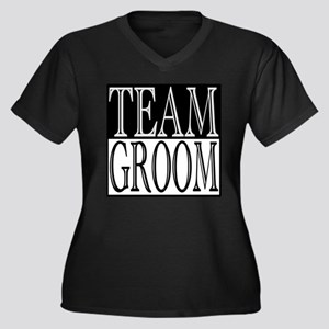 Team Groom -- Wedding Day Women's Plus Size V-Neck