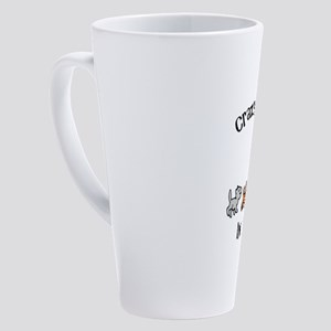 Crazy Cat Lady Trainee 17 oz Latte Mug