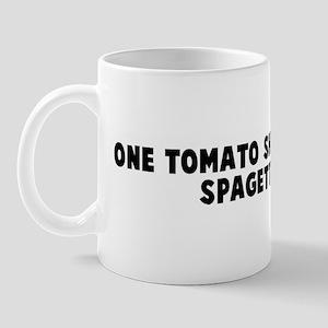 One tomato short of a good sp Mug