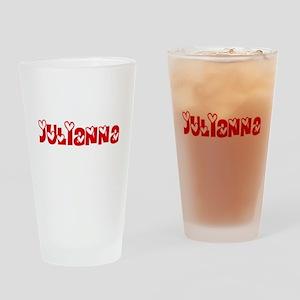 Julianna Love Design Drinking Glass