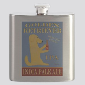 Golden Retriever IPA Flask