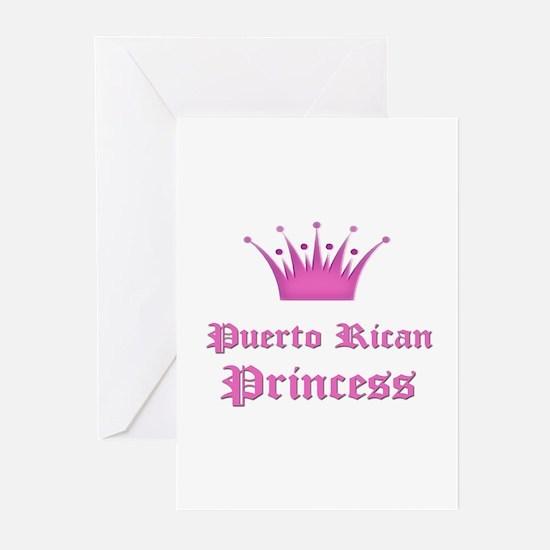 Puerto Rican Princess Greeting Cards (Pk of 10)
