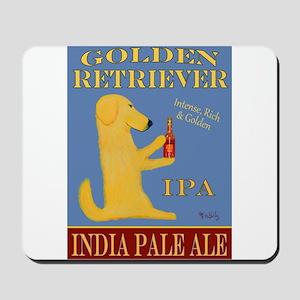Golden Retriever IPA Mousepad