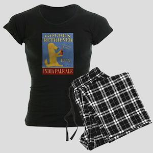 Golden Retriever IPA Women's Dark Pajamas