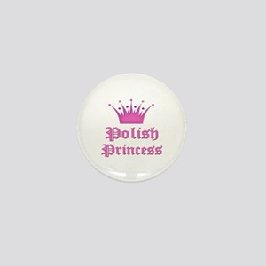 Polish Princess Mini Button