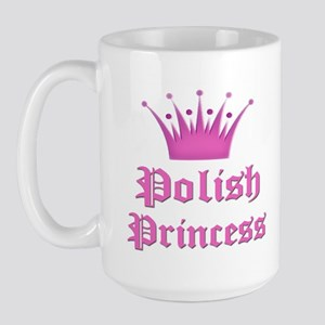 Polish Princess Large Mug