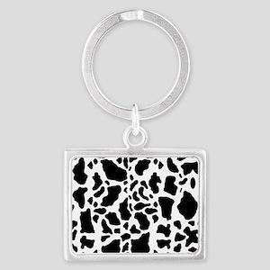 Cow Print Pattern Keychains