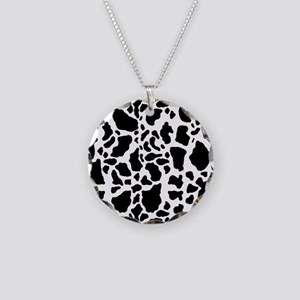 Cow Print Pattern Necklace