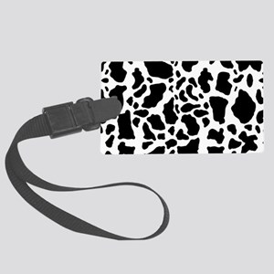 Cow Print Pattern Luggage Tag