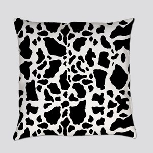 Cow Print Pattern Everyday Pillow