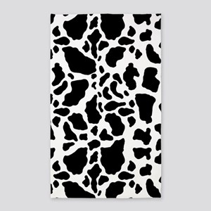 Cow Print Pattern Area Rug