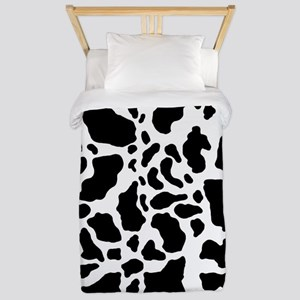 Cow Print Pattern Twin Duvet Cover