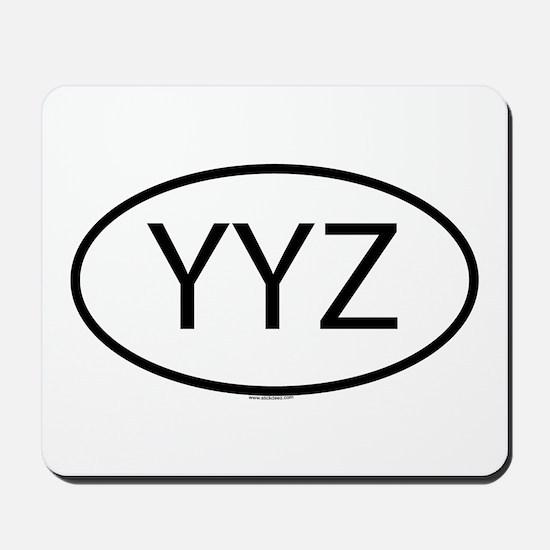 YYZ Mousepad