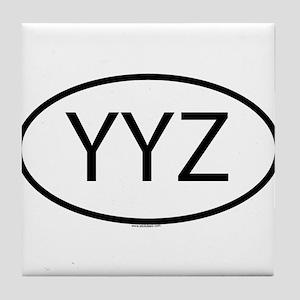 YYZ Tile Coaster
