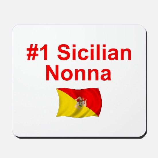 #1 Sicilian Nonna Mousepad