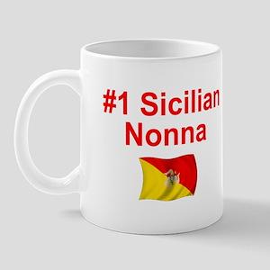 #1 Sicilian Nonna Mug