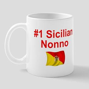 #1 Sicilian Nonno Mug