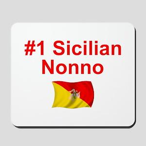 #1 Sicilian Nonno Mousepad