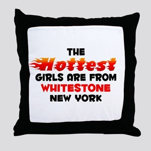 Hot Girls: Whitestone, NY Throw Pillow