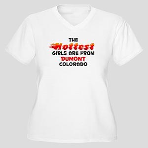 Hot Girls: Dumont, CO Women's Plus Size V-Neck T-S