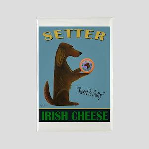 Setter Irish Cheese Rectangle Magnet