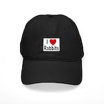 I Love Rabbits for Rabbit Lovers Black Cap