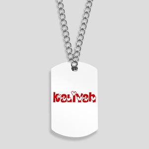 Kaliyah Love Design Dog Tags