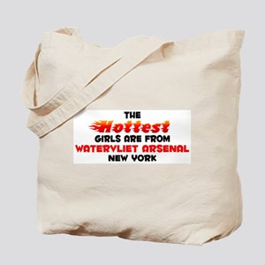 Hot Girls: Watervliet A, NY Tote Bag
