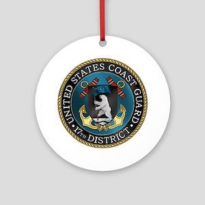 17th District USCG Ornament (Round)