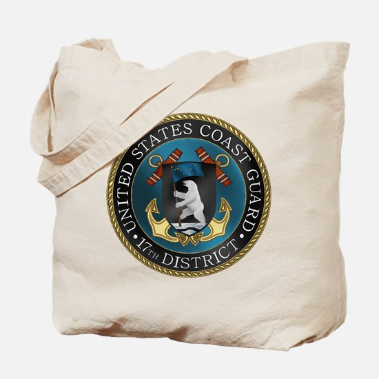 17th District USCG Tote Bag