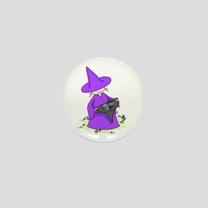 Purple Mini Button