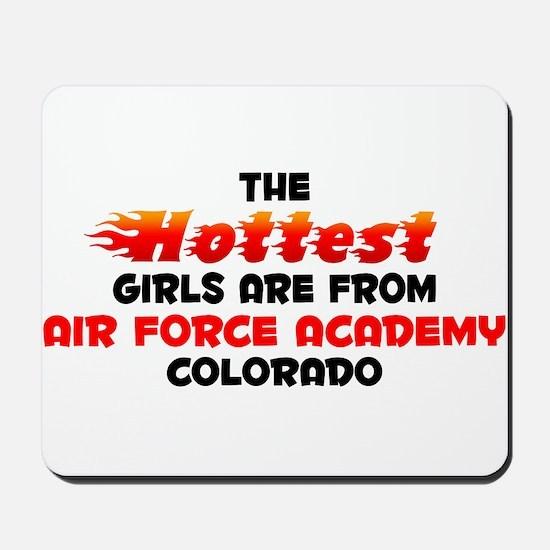 Hot Girls: Air Force Ac, CO Mousepad