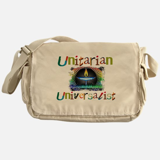Unitarian Universalist 14 Merchandis Messenger Bag