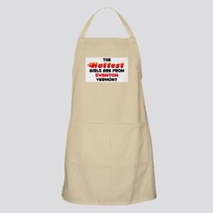 Hot Girls: Swanton, VT BBQ Apron