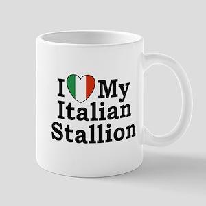 I Love My Italian Stallion Mug