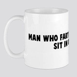 Man who fart in church must s Mug