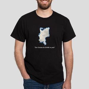 2-Ukraine2 - Blank Dark T-Shirt