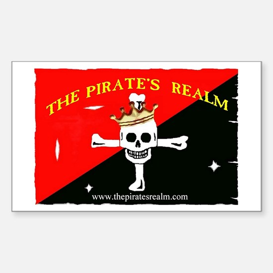 Pirate's Realm Rectangle Decal