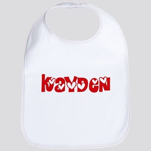 Kayden Love Design Baby Bib